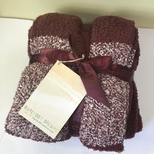 BAREFOOT DREAMS Cozy Chic Blanket Throw NEW TAG